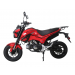 TAOTAO HELLCAT 125cc Motorcycle Red Side