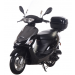 Icebear 50cc 4 Automatic Scooter Black