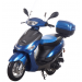 Icebear 50cc 4 Automatic Scooter Blue