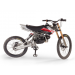 Motoped Pro - Motorized 49cc Mountain Bike propped