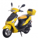 Icebear 50cc 4 Automatic Scooter Yellow