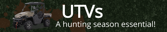 UTVs are a hunting season essential
